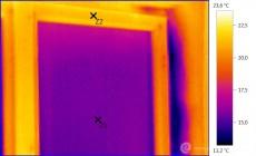 Termogram - termokamera odhalí i nětěsnost oken